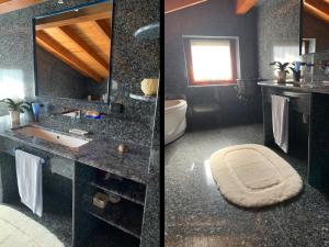 Case History graniti cusio bagno marmo palissandro labrador