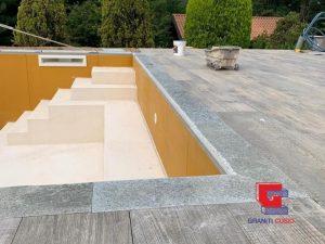 Case History sito Graniti Cusio piscina Gaja Gold